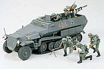 German Hanomag Sd.Kfz. 251/1 Halftrack -- Plastic Model Military Vehicle Kit -- 1/35 Scale -- #35020