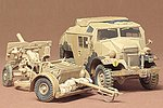 British 25 Pounder Gun/Quad -- Plastic Model Military Vehicle Kit -- 1/35 Scale -- #35044