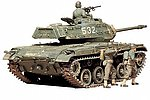 US M41 Walker Bulldog -- Plastic Model Military Vehicle Kit -- 1/35 Scale -- #35055