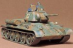 Russian 734/76 1943 Tank -- Plastic Model Military Vehicle Kit -- 1/35 Scale -- #35059