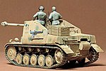 German Sdkfz 131 Marderll SP -- Plastic Model Military Vehicle Kit -- 1/35 Scale -- #35060