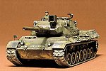 German Leopard Medium Tank -- Plastic Model Military Vehicle Kit -- 1/35 Scale -- #35064