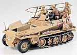 German SdKfz 250/3 Greif Halftrack -- Plastic Model Military Vehicle Kit -- 1/35 Scale -- #35113