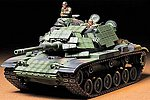 US Marine M60A1 Tank -- Plastic Model Military Vehicle Kit -- 1/35 Scale -- #35157