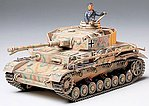 German Panzer IV Tank -- Plastic Model Military Vehicle Kit -- 1/35 Scale -- #35181