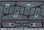 Zimmerit Coating Applicator Photo Etch -- Plastic Model Vehicle Decal Set -- 1/35 Scale -- #35187