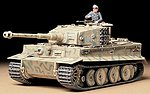 German Tiger I Mid Production Tank -- Plastic Model Military Vehicle Kit -- 1/35 Scale -- #35194