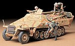 German Sd.Kfz. 251/1 Halftrack -- Plastic Model Military Vehicle Kit -- 1/35 Scale -- #35195