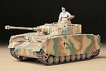 German Pz Kpfw IV Ausf.H Tank -- Plastic Model Military Vehicle Kit -- 1/35 Scale -- #35209