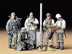German Soldiers at Field Briefing Set -- Plastic Model Military Figure Kit -- 1/35 Scale -- #35212
