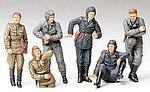 Russian Army Tank Soldiers Crew -- Plastic Model Military Figure Kit -- 1/35 Scale -- #35214