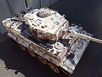German Tiger I Early Production Tank -- Plastic Model Military Vehicle Kit -- 1/35 Scale -- #35216