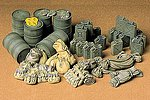 Allied Vehicles Accessory Set -- Plastic Model Military Diorama Kit -- 1/35 Scale -- #35229