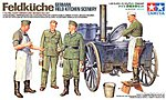 Feldkuche German Field Kitchen Scenery -- Plastic Model Military Diorama Kit -- 1/35 Scale -- #35247