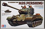 US Med Tank M26 Pershing T26E3 -- Plastic Model Military Vehicle Kit -- 1/35 Scale -- #35254