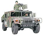 Humvee M1025 Armament Carrier -- Plastic Model Military Vehicle Kit -- 1/35 Scale -- #35263