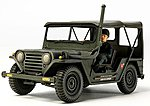 Utility Truck M151A2 Vietnam War -- Plastic Model Military Vehicle Kit -- 1/35 Scale -- #35334
