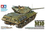 US Tank Destroyer M10 Mid Production -- 1/35 Scale Plastic Model Military Vehicle -- #35350