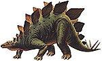 Stegosaurus Stenops Dinosaur -- Plastic Model Dinosaur Kit -- 1/35 Scale -- #60202