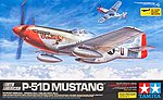 North American P-51D Mustang -- Plastic Model Airplane Kit -- 1/32 Scale -- #60322