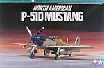 North American P-51D Mustang Fighter Aircraft -- Plastic Model Airplane Kit -- 1/72 Scale -- #60749