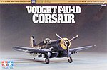 Vought F4U-1D Corsair -- Plastic Model Airplane Kit -- 1/72 Scale -- #60752