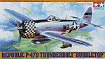 P-47D Bubbletop Fighter Aircraft WWII -- Plastic Model Airplane Kit -- 1/48 Scale -- #61090