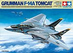 Grumman F-14A Tomcat -- Plastic Model Military Vehicle Kit -- 1/48 Scale -- #61114