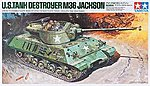 US Tank Destroyer M36 Jackson -- Plastic Model Military Vehicle Kit -- 1/35 Scale -- #89553