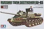 SU-85 Russian Tank Destroyer w/Mastering Set -- Plastic Model Military Kit -- 1/35 Scale -- #89797