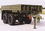 M1095 MTV 2 Axle Flatbed (Composite Kit) -- HO Scale Model Roadway Vehicle -- #81013