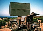 Hawk MIM-23B AN/MPQ-55 Acquisition Radar -- HO Scale Model Roadway Vehicle -- #87077