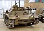 PzKpfw III/SdKfz 141/1 Model L -- HO Scale Model Roadway Vehicle -- #87082