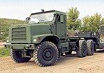 MTVR MK36 Semi Tractor -- HO Scale Model Roadway Vehicle -- #87088