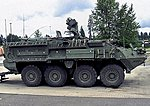 ''Stryker'' ICV M1126 Infantry Carrier Vehicle -- HO Scale Model Roadway Vehicle -- #87090