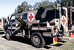 Bushmaster Ambulance Kit Resin & Metal -- HO Scale Model Roadway Vehicle -- #87156