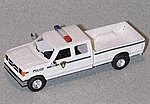 Ford Extended Cab Pick-Up State Park Police -- HO Scale Model Railroad Vehicle -- #90208