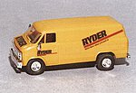 Chevrolet Van Ryder -- HO Scale Model Railroad Vehicle -- #90288