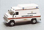 German Baby Ambulance -- HO Scale Model Roadway Vehicle -- #90290