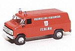 Chevrolet Van FFW Floing -- HO Scale Model Roadway Vehicle -- #90294