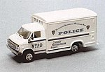 Chevrolet Van (NYPD) Technical Assistance Response Unit -- HO Scale Model Roadway Vehicle -- #90301