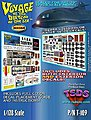 Seaview Submarine Decal Set for MOE -- Science Fiction Plastic Model Decal -- 1/128 Scale -- #109