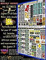 LiS- Jupiter 2 Spaceship Decal Set for PLL 12'' Model -- Science Fiction Model Decal -- 1/60 -- #113