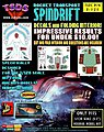 Land of the Giants Spindrift Decal Set & Color Fold-Up Interior for MOE -- Decal -- 1/128 -- #121