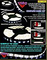 Universal Micro-LED Lighting Strips Complete Basic Kit -- Science Fiction Decal -- #560s