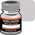 Model Master Steel Buff Metallic 1/2 oz -- Hobby and Model Lacquer Paint -- #1402