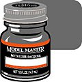 Model Master Dark Gray Buff Metallic 1/2 oz -- Hobby and Model Lacquer Paint -- #1412
