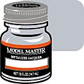 Model Master Aluminum No Buff Metallic 1/2 oz -- Hobby and Model Lacquer Paint -- #1418