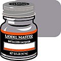 Model Master Steel No Buff Metallic 1/2 oz -- Hobby and Model Lacquer Paint -- #1420
