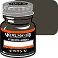 Model Master Burnt Iron No Buff Metallic 1/2 oz -- Hobby and Model Lacquer Paint -- #1424